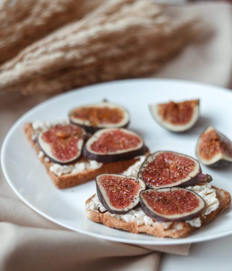 Sweet & Salty Fig Toast