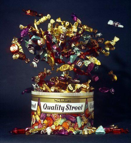 The Quality Street Tin