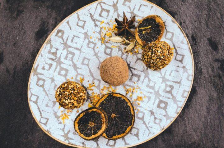 Cardamom Spiced Truffles