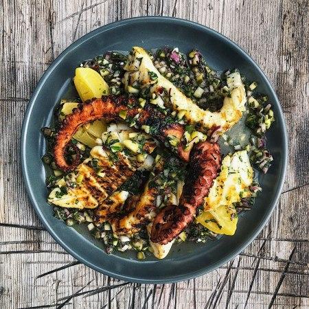 BBQ Octopus & Squid