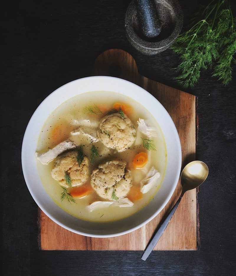Jewish Chicken Soup with Matzo Balls