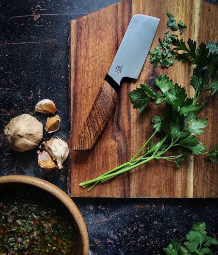 Black Garlic Chimichurri Sauce