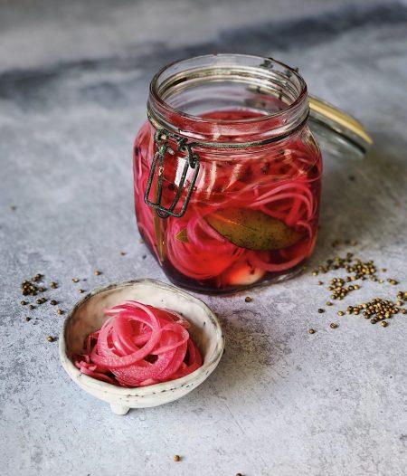 Bang-Bang Pickled Red Onions