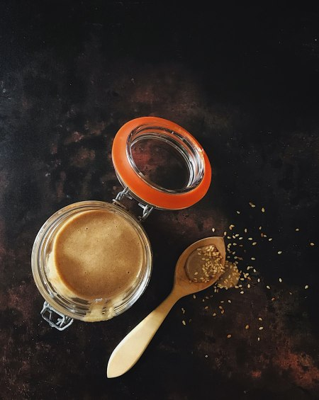 Tahini, Honey & Cinnamon Spread – Tahinomelo