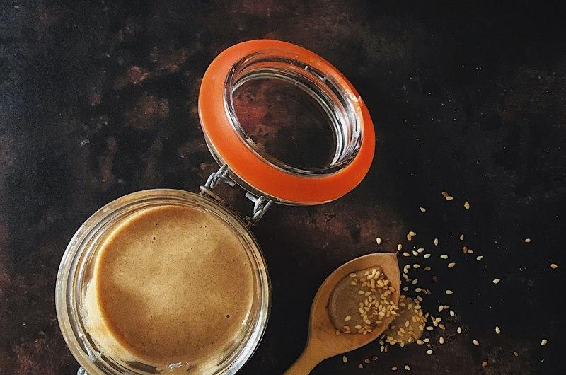 Tahini, Honey & Cinnamon Spread - Tahinomelo