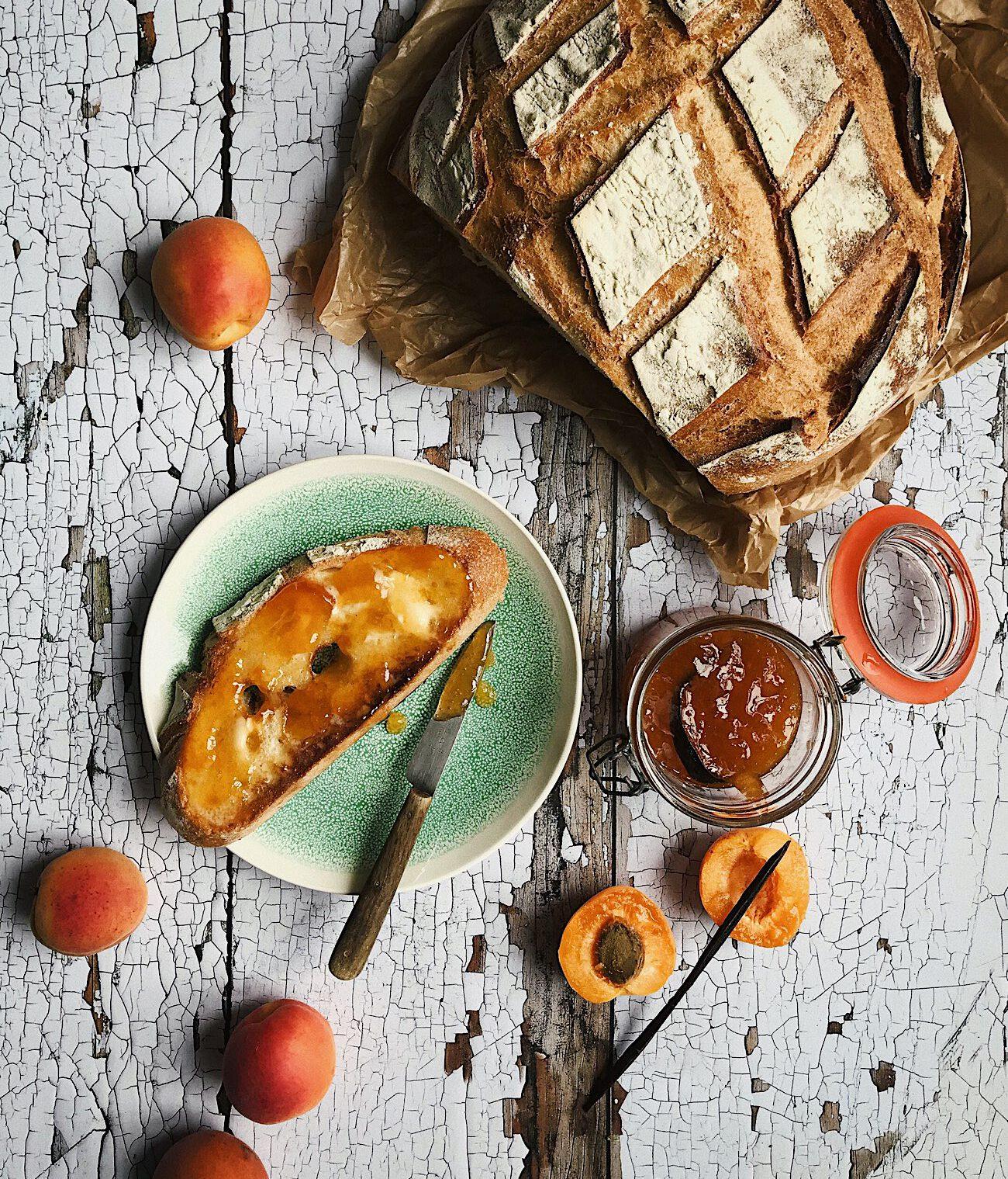 Apricot & Vanilla Bean Jam