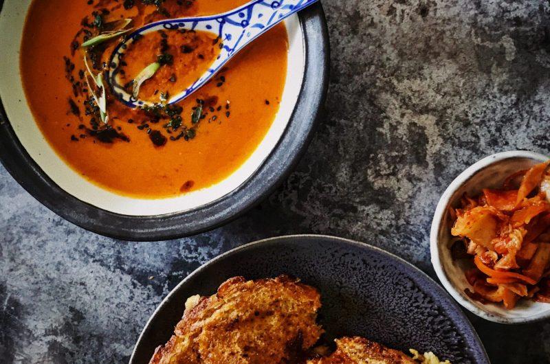Tomato & Kimchi Soup