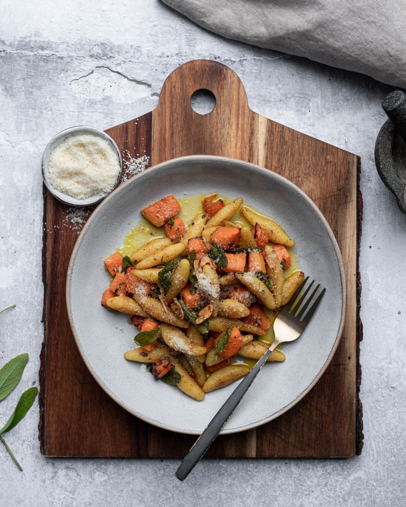 Pumpkin, Sage and Browned Butter Gnocchi