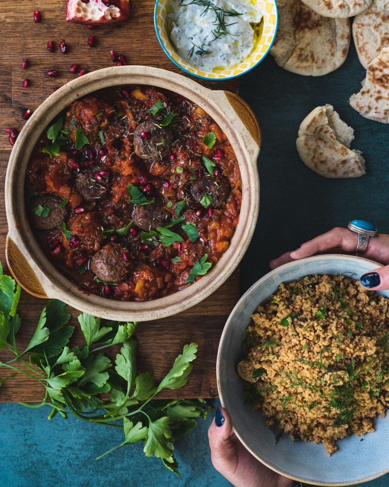 Middle Eastern Beef and Lamb Meatballs