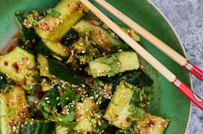 Smacked Cucumbers