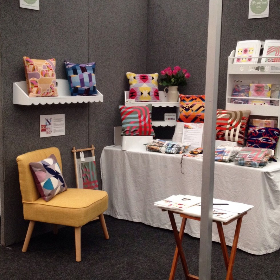 Pompom Design at the Knitting & Stitching Show