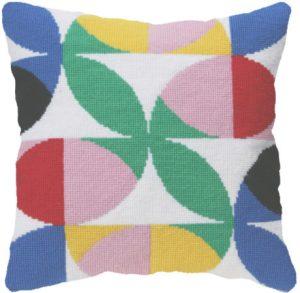 Flores needlepoint tapestry cross stitch kit