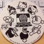 ポムポムプリン*コレクション☆キャラ大カフェのコースター