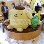 ポムポムプリンカフェ☆横浜店☆【15】非売品のおおきなプリンちゃんとお友達