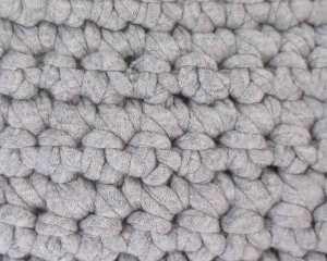 埼玉県所沢市のかぎ針編み教室pomponnerで使うzpagettiレッスンの編み地10号のアップ