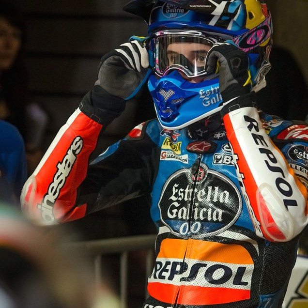 Alex Marquez - Superprestigio Dirt Track Barcelona 2014