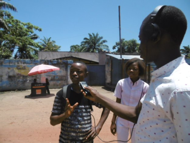 IN DRC, the majority of children do not have access to the media in order to express their opinions and appeal to the authorities.