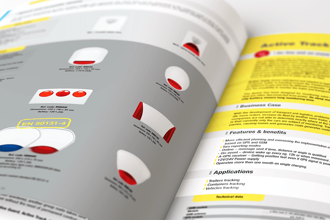 Katalog firmowy grafika