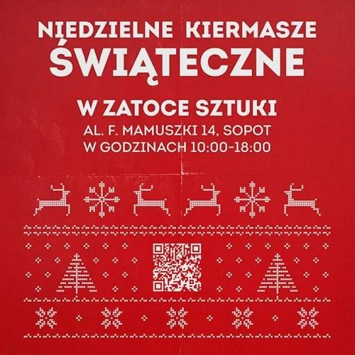 Kiermasz świąteczny plakat