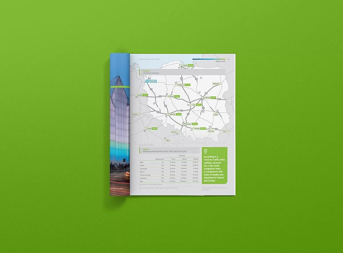 Mapy w raporcie