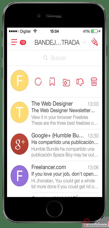 my-mail inbox