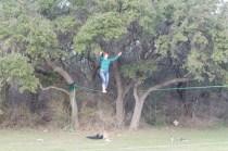 Faith walking the rope