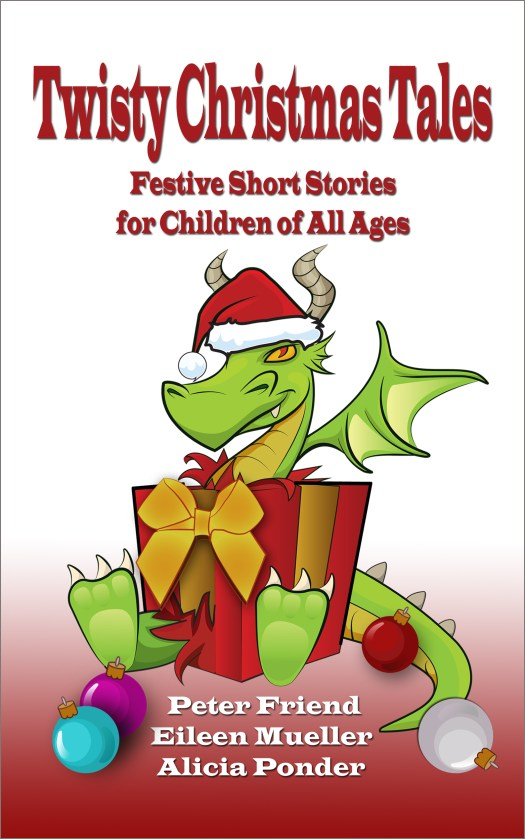 Twisty Christmas Tales, my author's latest project does not even have me in it!