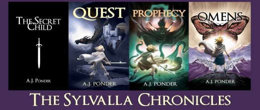 The Sylvalla Chronicles, The Secret Child, Quest, Prophecy and Omens. Fantasy adventure or postmodern fantasy, you choose.