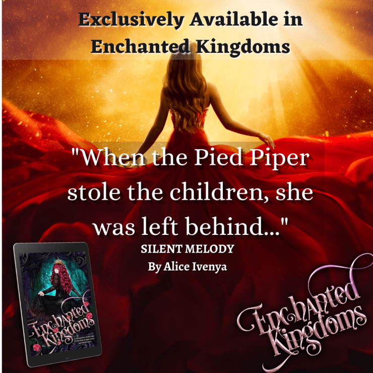 """When the pied piper stole the children, she was left behind."""