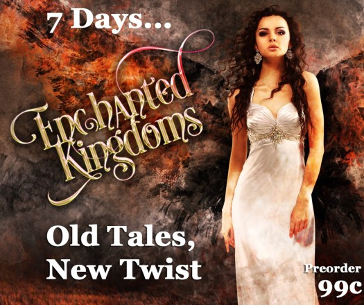 A fiery spirit looking forward to the:  Countdown to Enchanted Kingdoms