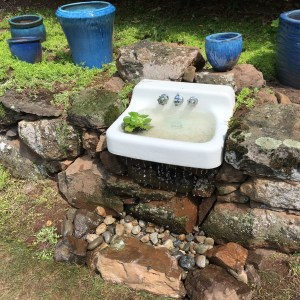 Pondless Water Feature Installed in CT