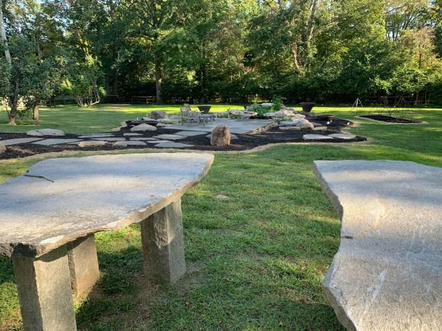 Custom Stonework and Garden Accent