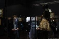 Watching Degas's dancer. © Violet Acevedo
