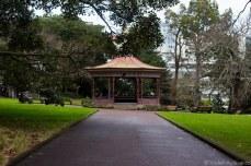 Gazebo in Albert Park. © Violet Acevedo