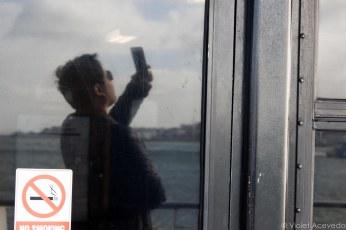 Selfies on the water. © Violet Acevedo