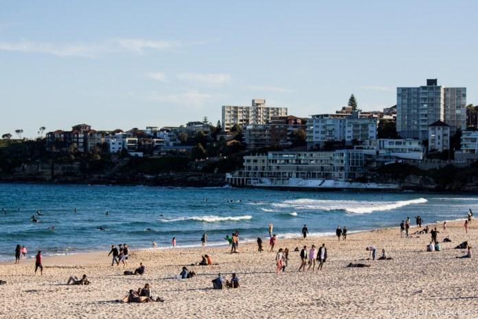 Bondi Beach, Sydney, Australia. © Violet Acevedo
