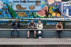 South Melbourne Market tram station. © Violet Acevedo