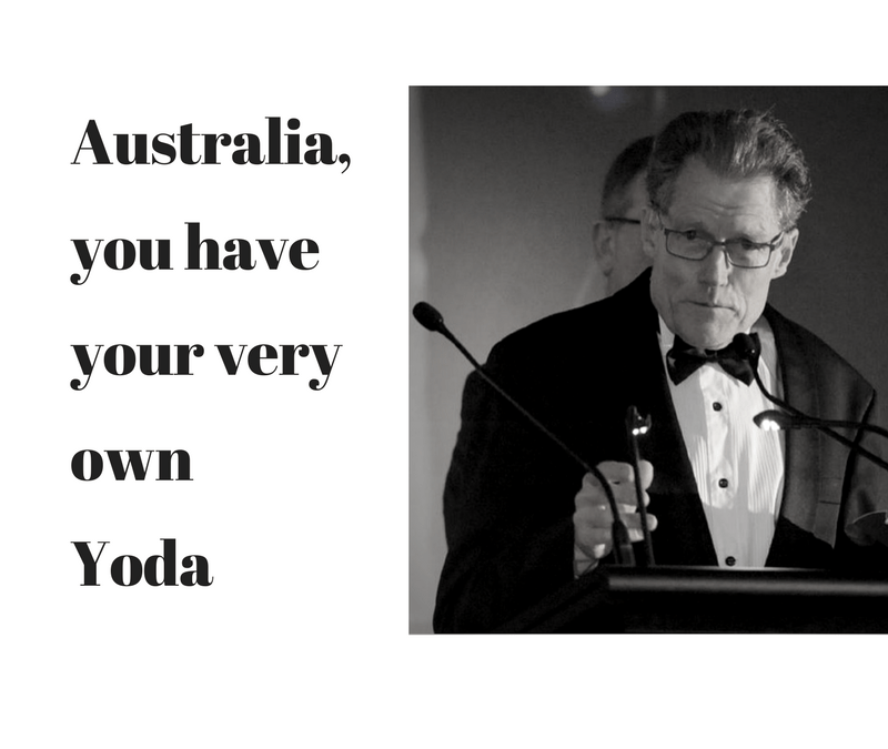 Australia You Have Your Very Own 'Yoda'!