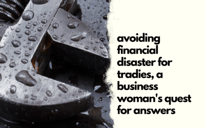 Avoiding Financial Crisis for Tradies- A COVID Quest for Businesswoman