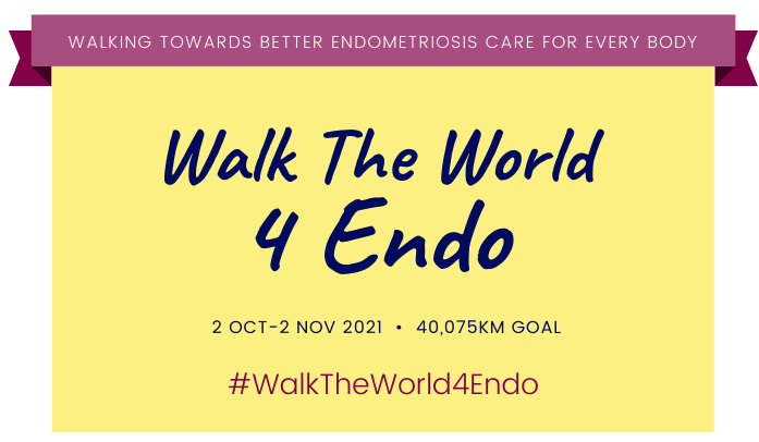Walking the World – Inspiring Fundraiser for Endo | ENDO HELP