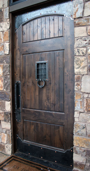 Wrought Iron Door Hardware  Ponderosa Forge  Ironworks