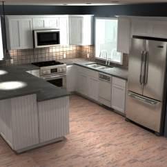 Virtual Kitchen Island With Seating Tours Ponderosa Supply