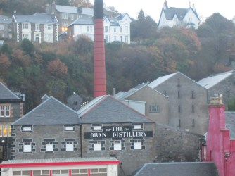 Oban, distillery, scotch whisky, Scotland