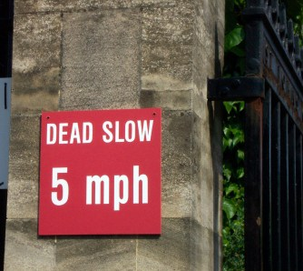 England, road sign