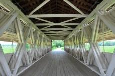 covered bridge, union county, ohio