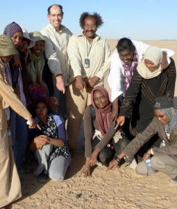 Asteroid fragments found in Sudan