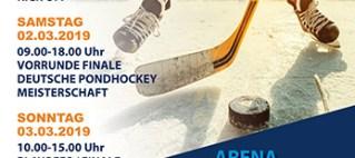 Finale der Deutschen Pondhockey Meisterschaft 2018-19