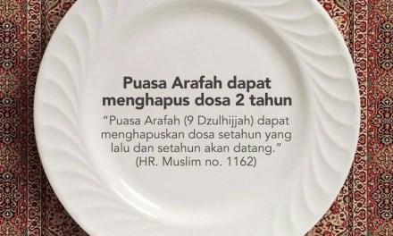 Puasa Arafah | Pengertian, Hukum , Waktu dan Keutamaan