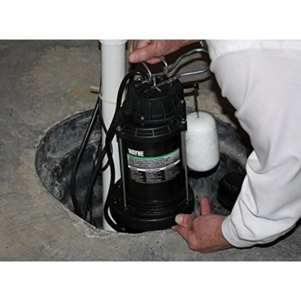 Wayne 1 2 Hp Battery Backup Sump Pump System
