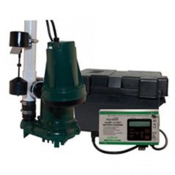 Zoeller Aquanot 508-0007 12 Volt Backup Sump Pump With M98